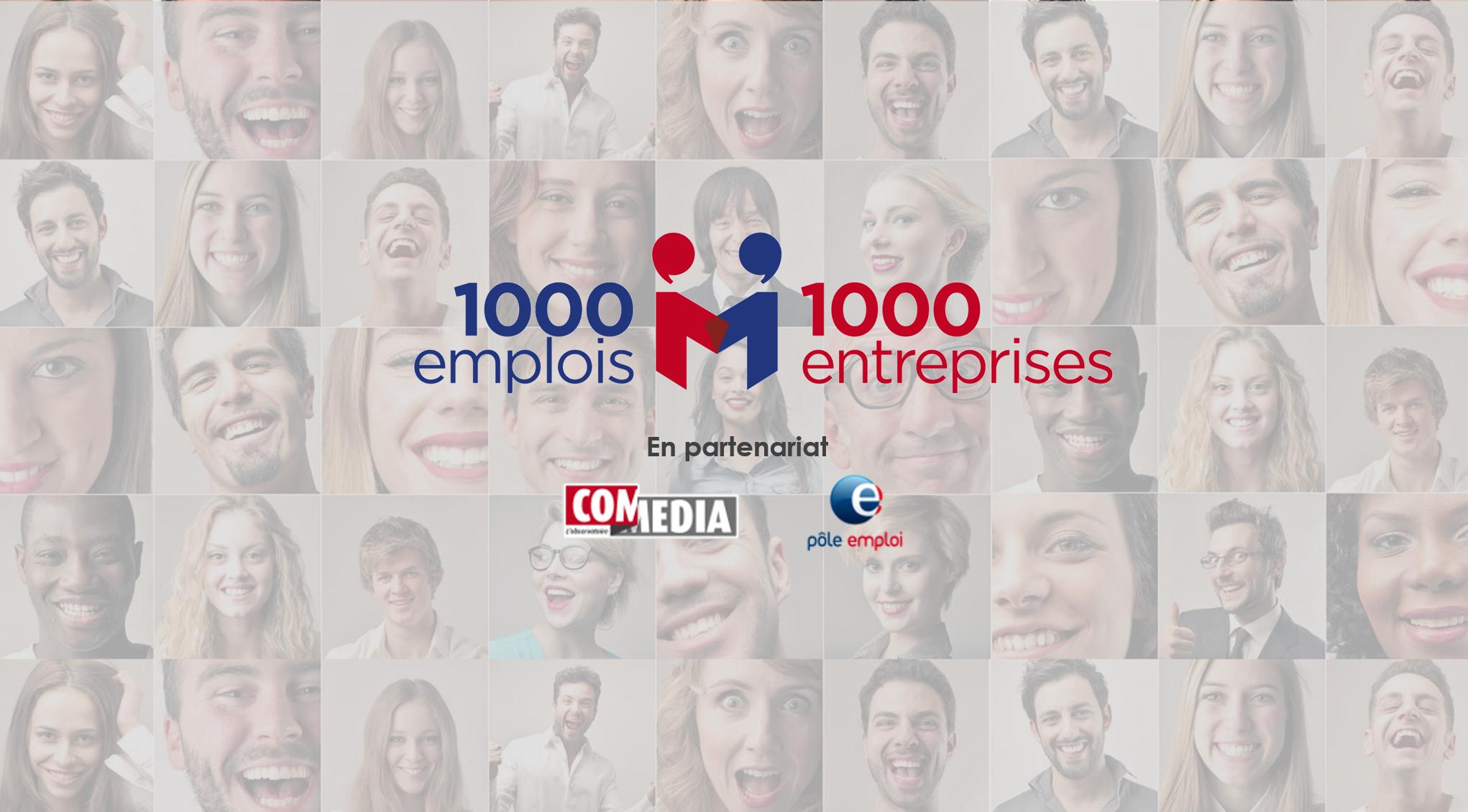 1000 emplos 1000 entreprises
